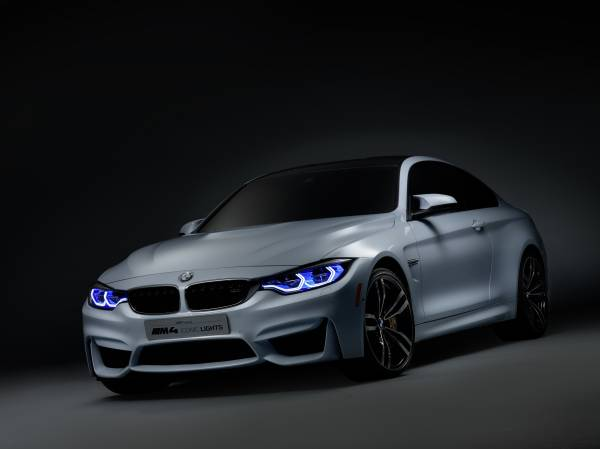 BMW M4 Concept Iconic Lights, Daytime Running Light (01/2015)