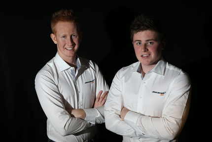 McLaren GT Young Driver Programme - Ross Wylie and Andrew Watson