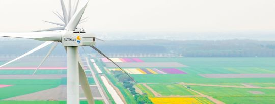 Vattenfall/Nuon becomes the first energy company on the Dutch market to offer new service from a wind farm that will stabilise the electricity grid