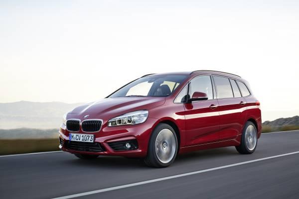 BMW 1er, Modell Urban Line und Modell M Sport (01/2015).