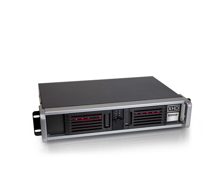 XHD-200 Media server for end-to-end show design, creation, setup and control