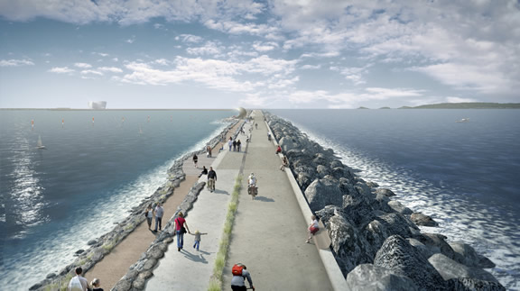 GEANDRITZ HYDRO consortium to supply electromechanical equipment for the world's first tidal lagoon hydropower project in Swansea Bay, Wales