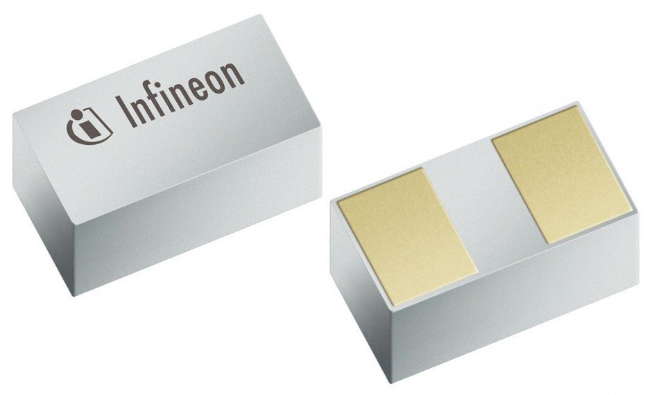 SG-WLL-2-1 With an average of 10-30 TVS diodes used in typical consumer electronics products Infineon's SG-WWL-2-1 package enables a small size with no sacrifice in performance.