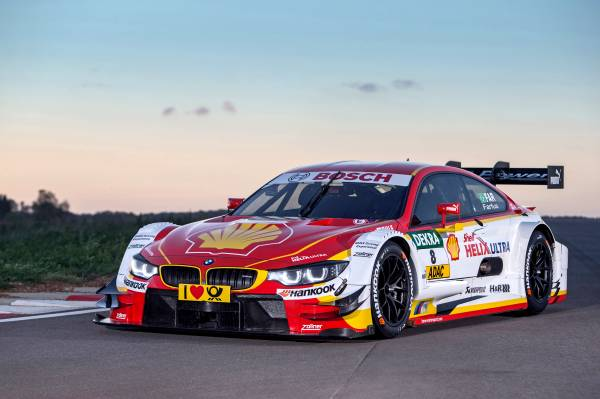 Munich (DE), 16th February 2015. Shell BMW M4 DTM, Premium Technology Partner Shell Helix Ultra, design, livery. This image is copyright free for editorial use. © BMW AG (2/2015).