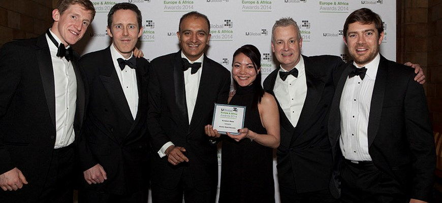 UK public and regulated services provider Amey won European Waste Project of the Year at 2014 IJ Global Europe & Africa Awards