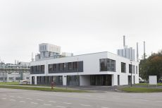 The new Health Center at WACKER's Burghausen site. The company invested around €4 million in the new building. (photo: Wacker Chemie AG).