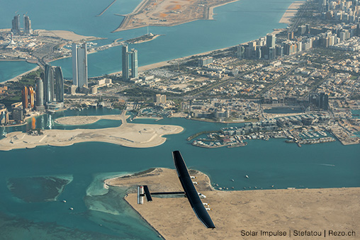 ABB to accompany Solar Impulse on the first round-the-world flight in a plane powered only by energy from the sun