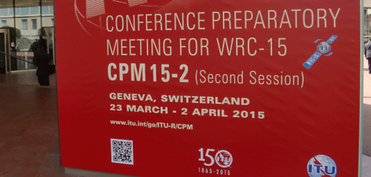 European Broadcasting Union joins delegates from around the world at the Conference Preparatory Meeting in Geneva for World Radiocommunications Conference (WRC-15) in November 2015