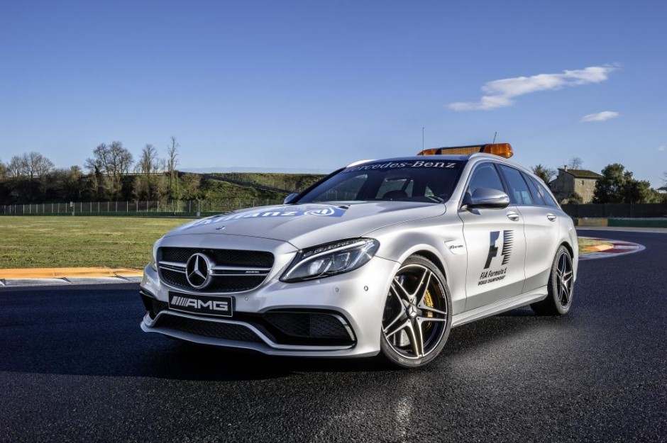 Mercedes-AMG C 63 S Estate as Official Medical Car of the FIA Formula One World Championship™