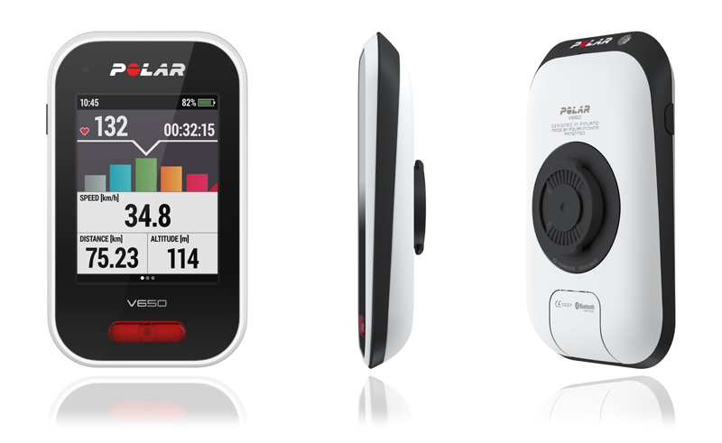 "Polar's new bike computer with GPS hits European stores in March Kempele, Finland – March 9, 2015 – Polar, the leading manufacturer of heart rate monitors and training and cycling computers, has won the prestigious iF design award 2015 for its first dedicated GPS cycling computer, Polar V650. The innovative, functional and modern design of the V650 is based on Polar's long line of experience that has been refined to a combination of ease of use and stylish design. This is the sixth time Polar receives the iF design award for its outstanding product design. Lauri Lumme, the designer of Polar V650 said: ""We are honored to be recognized with our design work in relation to the evaluation criteria such as design quality, finish, functionality, safety, degree of innovation and universal design. The V650 has been engineered and designed to make it the highest quality product of its kind."" Streamlined and light (only 120g), the V650 is easy to attach to the bike with the new bike mount. From the large 2.8"" color display, cyclists can see how they are doing at a glance and switch between views even at high speed with a touch of the screen. The front-mounted intelligent LED light turns on automatically in low-light conditions, enhancing visibility and making the rider seen in the dark. The future-proof V650 uses a USB cable for firmware updates, data transfer and charging. The smartest cycling computer with GPS The new Polar V650 brings together all the essential features ambitious cyclists are looking for to boost their performance. The integrated GPS functions enable monitoring speed, distance and location, and the cyclist can always find their way back home with the Back to Start feature. The V650 measures altitude data in the most accurate way thanks to a built-in barometric pressure sensor. Of course the V650 is also packed with familiar Polar Smart Coaching features. To add heart rate into training, the V650 can be used together with Bluetooth Smart Polar H6 or H7 heart rate sensor. The V650 is also fully compatible with Bluetooth Smart cycling speed and cadence sensors (power sensor support available in April 2015). The V650 can be used together with the free Polar Flow web service, which shows the user's training details as well as route tracking. With comprehensive information, riders can plan and carefully analyze their training. Polar's state-of-the-art bike computer will start sales in Europe in March with availability later extended to other countries. The suggested retail price is €219.90 and €269.90 together with Polar H6 heart rate sensor. More information Please visit: www.polarv650.com Marco Suvilaakso, Group Product Director at Polar Mob: +358-40-753 3176 Email: marco.suvilaakso@polar.com About Polar Founded in 1977, Polar Electro invented the world's first wireless heart rate monitor. Since then the company has been leading the sports instruments and heart rate monitoring category through its in-depth understanding of human physiology, performance, and the environment. Polar works in close cooperation with leading sports institutes and governing bodies, and has, thus, become widely recognized as the pioneer and world's leader of heart rate monitoring and fitness evaluation equipment. Headquartered near Oulu in Finland, the company operates internationally in more than 80 countries and its products are sold through over 35,000 retailers globally. Today, the award-winning Polar training computers are the number one choice among consumers worldwide. To learn more about how the wide range of Polar products and services can help you achieve your training goals and make your fitness story a success, please visit www.polar.com."