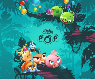 Rovio Entertainment announces global launch of Angry Birds Stella POP!