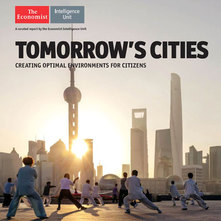 AkzoNobel-sponsored Economist Intelligence Unit's new report called Tomorrow's cities explores how cities can create optimal environments for citizens