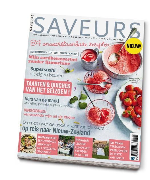 BurdaInternational partners with F&L Publishing to bring the successful culinary title Saveurs to the Netherlands