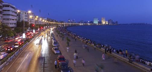 Mumbai, the commercial heart of India.