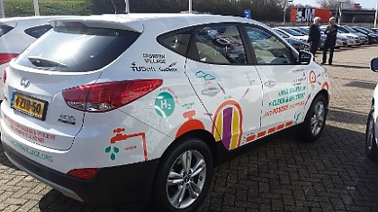 GasTerra finances the fuel cell car of TU Delft's Car as Power Plant project