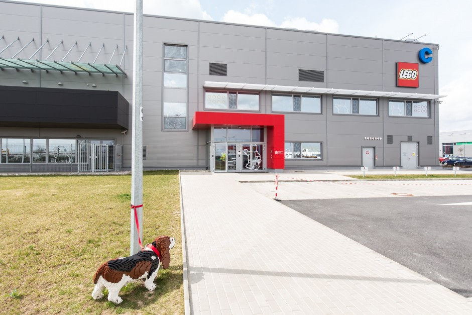 LEGO Group expands its production facility in its Kladno factory in the Czech Republic