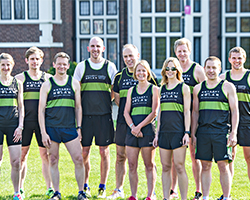 Loughborough University runners to support the Anthony Nolan charity at London's Green Belt Relay