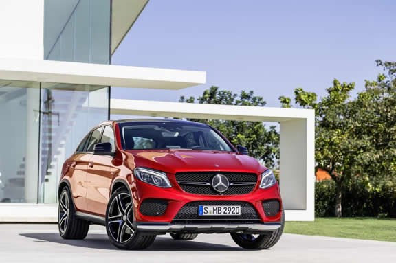 Mercedes-Benz GLE Coupé, GLE 450 AMG 4MATIC, exterior: designo hyacinth red metallic