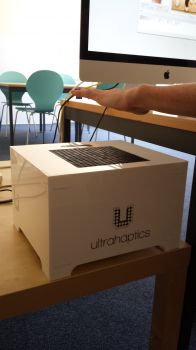 University of Sussex researchers used a system called UltraHaptics to pinpoint areas of the hand that could be stimulated to evoke different emotions.