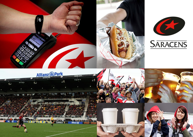 Gemalto to supply one of UK's most successful rugby union clubs Saracens with prepaid wristbands for secure contactless payment