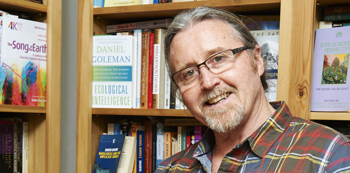 "University of East Anglia Dr Collins will discuss his book ""The Unselfish Spirit: Human Evolution in a Time of Global Crisis"" at the Hay Festival on May 21"