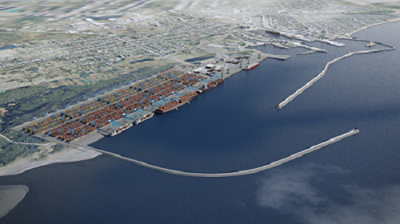 APM Terminals Poti Deputy Managing Director Joseph Crowley discussed the advantages of Poti Seaport as the prominent gateway for Black Sea, Mediterranean and Central Asian trade