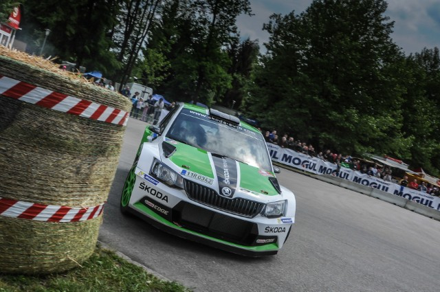 Czech Rally Championship: Two wins from two starts for the new ŠKODA Fabia R5; Jan Kopecký number three after home win