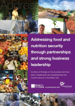 Forum for the Future and FrieslandCampina release report on addressing food and nutrition security in Southeast Asia