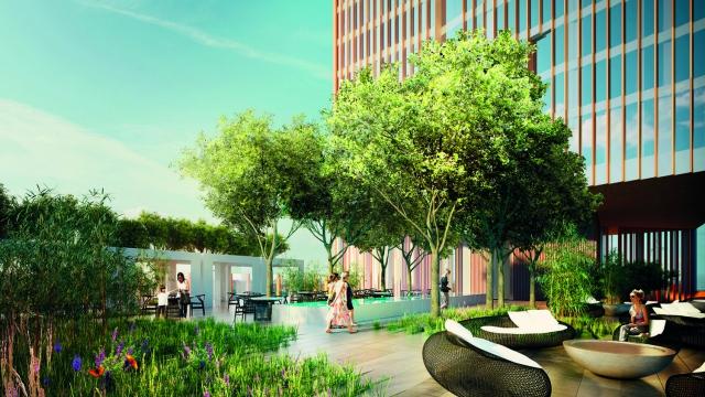 London property developer Manhattan Loft Corporation selected Bouygues UK for the construction of Manhattan Loft Gardens