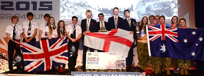Students from The Kings School, Worcester, England win Land Rover's new global education challenge