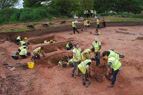 Students and staff from the University of Bristol's Department of Archaeology and Anthropology have been excavating at Berkeley every summer since 2006