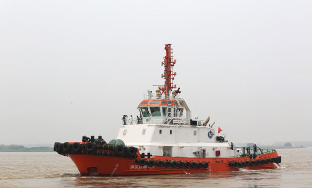 Rolls-Royce: China National Offshore Oil Corporation takes delivery of Asia's first LNG-powered tugboat Hai Yang Shi You 525