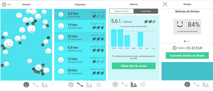 Telefónica I+D introduces an app to encourage good driving habits and road safety - Drivies