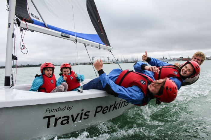 Travis Perkins funded Portsmouth Sailing Project now underway
