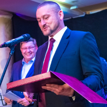 """Voith Industrial Services' managing director Przemysław Pendrowski named """"Manager of the Year 2015"""" by the Polish Chamber of the Automotive Industry PIM"""