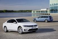 Volkswagen announced the first Volkswagen plug-in hybrid in the high-volume segment of large family cars - the new Passat GTE