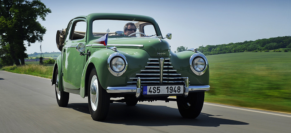 ŠKODA sends six classic cars at the 13th Sachsen Classic from 13 to 15 August