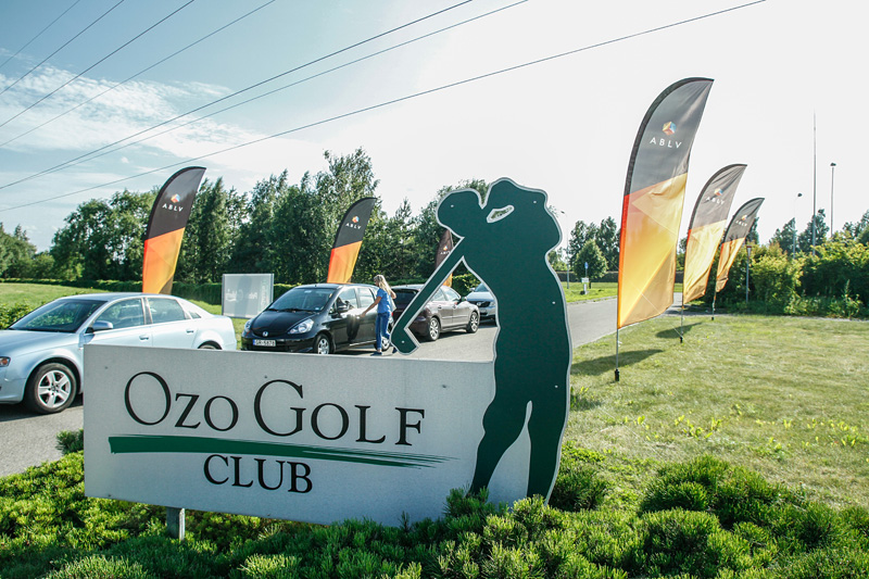 ABLV Invitational Golf Tournament took place on 25th of July 2015 in Ozo Golf Club, Riga, Latvia
