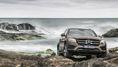 Bridgestone tyres selected by Daimler for the 2015 worldwide launch of the second-generation Mercedes-Benz GLC SUV