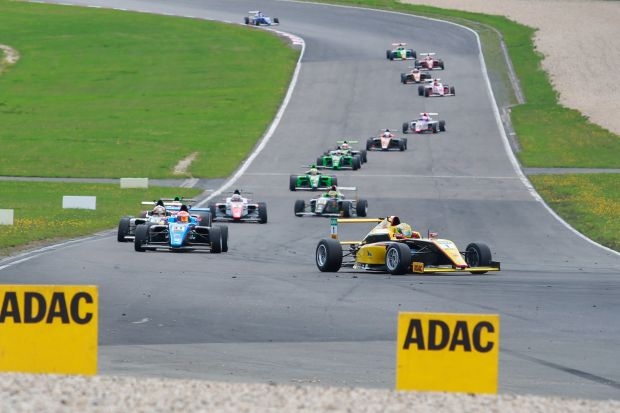 German Marvin Dienst took the head of the ADAC F4 Abarth German Championship