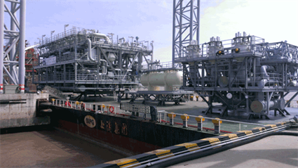 Hyundai Heavy Industries placed two important contracts with Wärtsilä for seawater/propane based regasification modules
