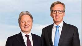 Nordea Bank AB appointed Casper von Koskull Group CEO and Torsten Hagen Jørgensen Group COO
