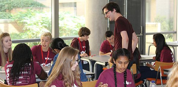 Thirty Year 10s from Bedfordshire test drive maths at University of Cambridge's Centre for Mathematical Sciences