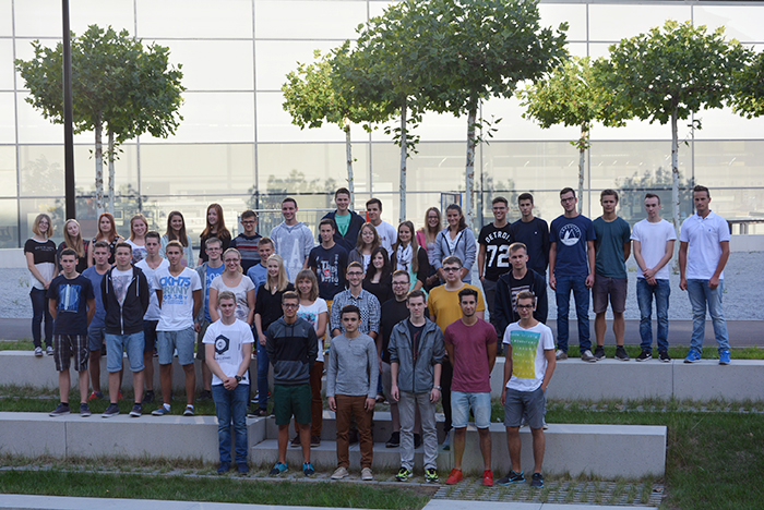 42 young people will begin their apprenticeships at Voith in Heidenheim