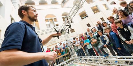 ETH Zurich / University of Zurich: the fourth Scientifica recorded 25,000 visitors