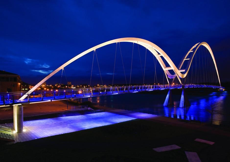 Infinity Bridge, Stockton-on-Tees (UK) | acdc