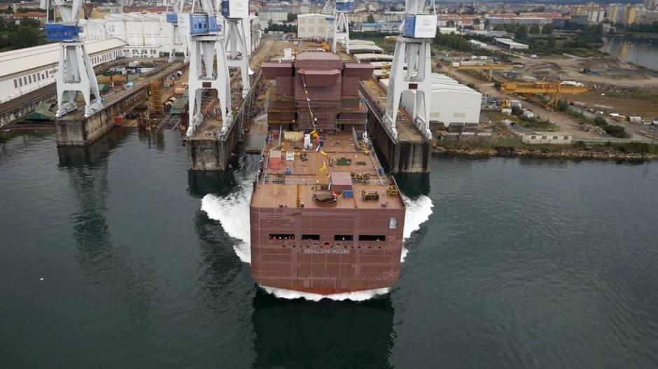 """Navantia ha botado en el astillero de Ferrol el Buque da Apoyo a Plataformas para la empresa """"Petróleos Mexicanos"""""""