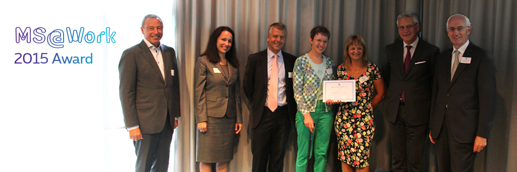 Proximus received MS@Work 2015 Award by National Belgian Multiple Sclerosis League for employing people with Multiple Sclerosis