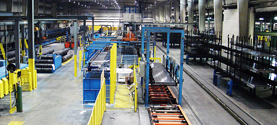 Sapa's Elkhart plant is one of three extrusion plants the company has in the state of Indiana.