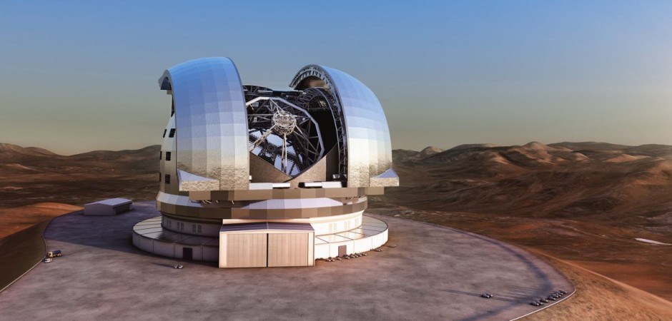 University of Oxford to lead the design and build of the HARMONI spectrograph for the European Extremely Large Telescope